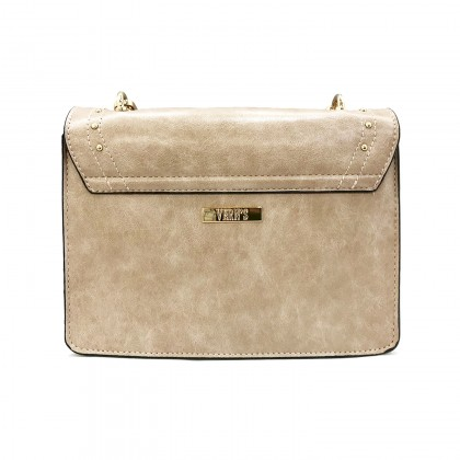 VERN'S Ladies Leather Clutch Sling Bag - B06005410