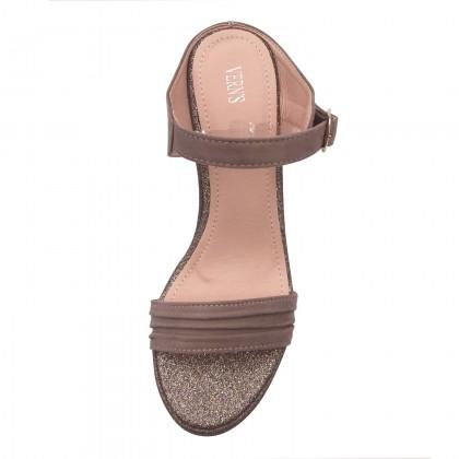 VERN'S Glitter Wedge Sandals - S06023810